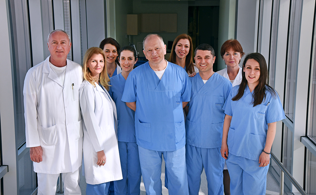 Систина Офталмологија - Тим