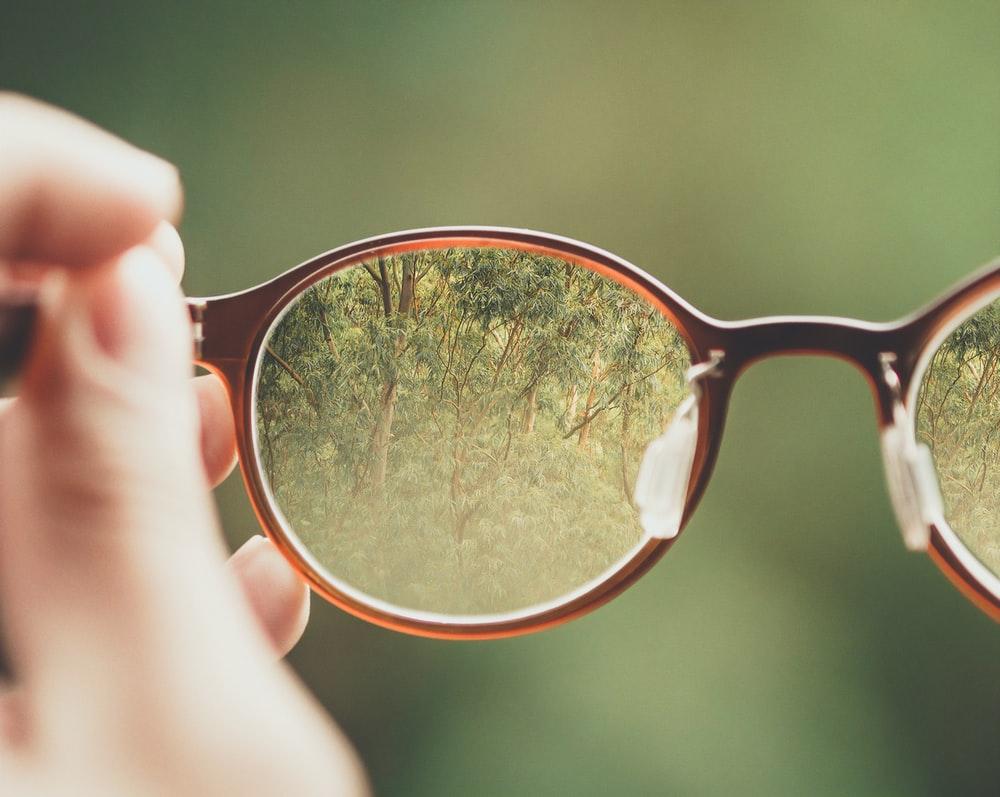 поглед низ очила